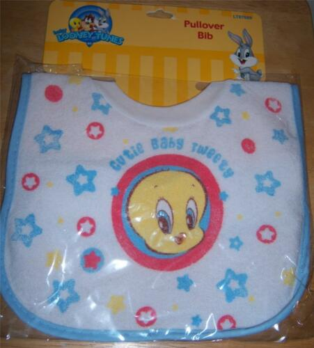 Baby Shower New Looney Tunes Tweety Pull Over Bib