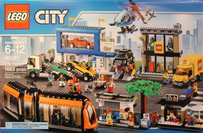 LEGO City 60097 City Square Nuovo Sealed Set