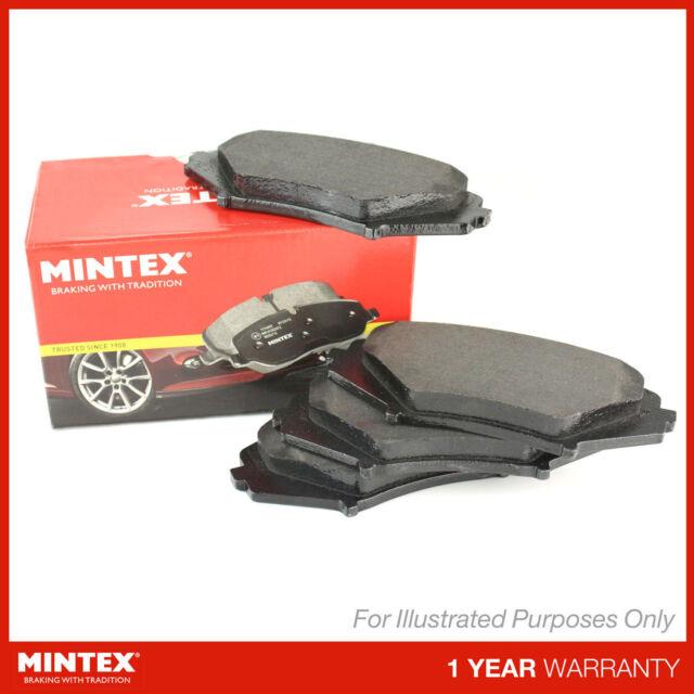 Matching OE Quality Mintex Front/Rear Disc Brake Pads Set