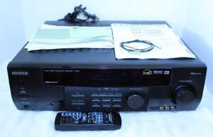 kenwood vr 517 stereo am fm receiver remote manual av control rh ebay com Radios Kenwood R 600 Kenwood Ham Radio Manuals