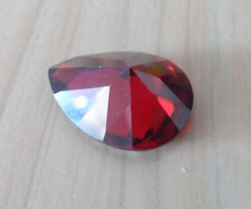 18.03ct 13X18mm Granate Zafiro AAAAA Forma de Pera Corte Facetado Vvs Piedra Suelta