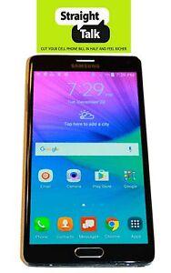 Unlocked-Samsung-Galaxy-Note-4-IV-Straight-Talk-Verizon-Towers-32GB
