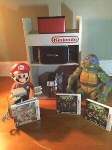 Nintendo 3ds Xl Bundle W Super Mario Bros 2 Must See 8 Games Look