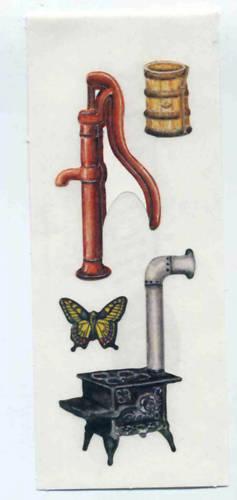 CREATIVE MEMORIES HERITAGE STICKER STRIP #9 BN /& NLA