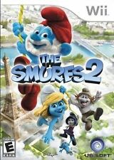 NEW The smurfs 2 Wii Kids Animation Game Wii U Compatible