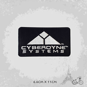 Cyberdyne System Movie Patch Iron On Patch Sew On Embroidered Patch