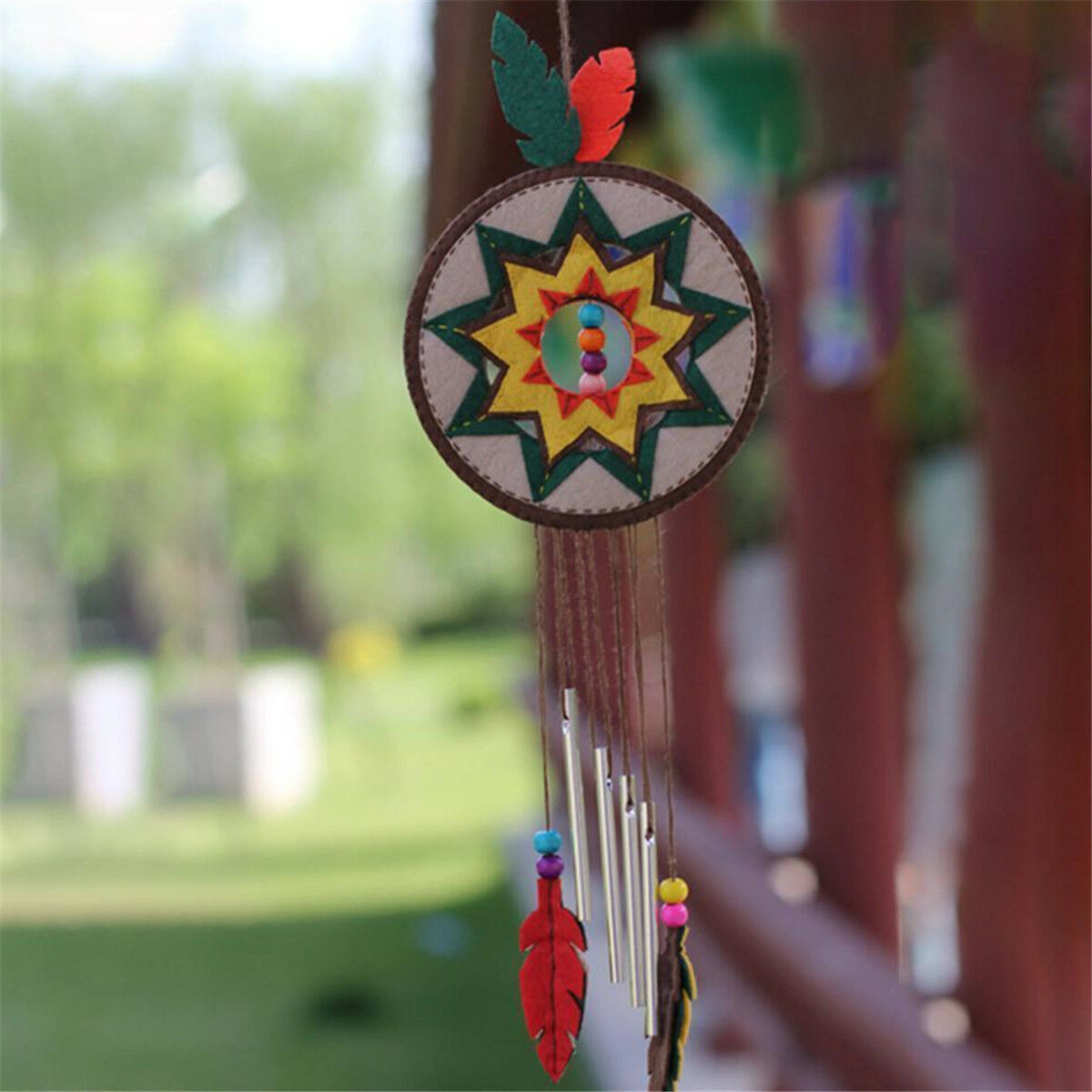1 Set DIY Wind Chimes Material Yard Garden Outdoor Hanging Decor Xmas Gifts Toy