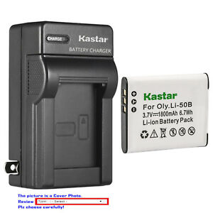 Kastar-Battery-Wall-Charger-for-Olympus-Li-50B-LI-50C-amp-Stylus-9000-Stylus-9010