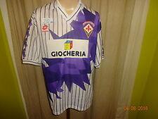 """AC Florenz Original Lotto Auswärts Trikot 1991/92 """"GIOCHERIA"""" Gr.XL Neuwertig"""