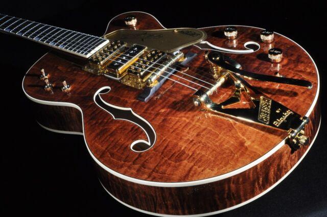 Gretsch USA Custom Shop G6120cst Curly Maple 3 Pickup Nashville ...