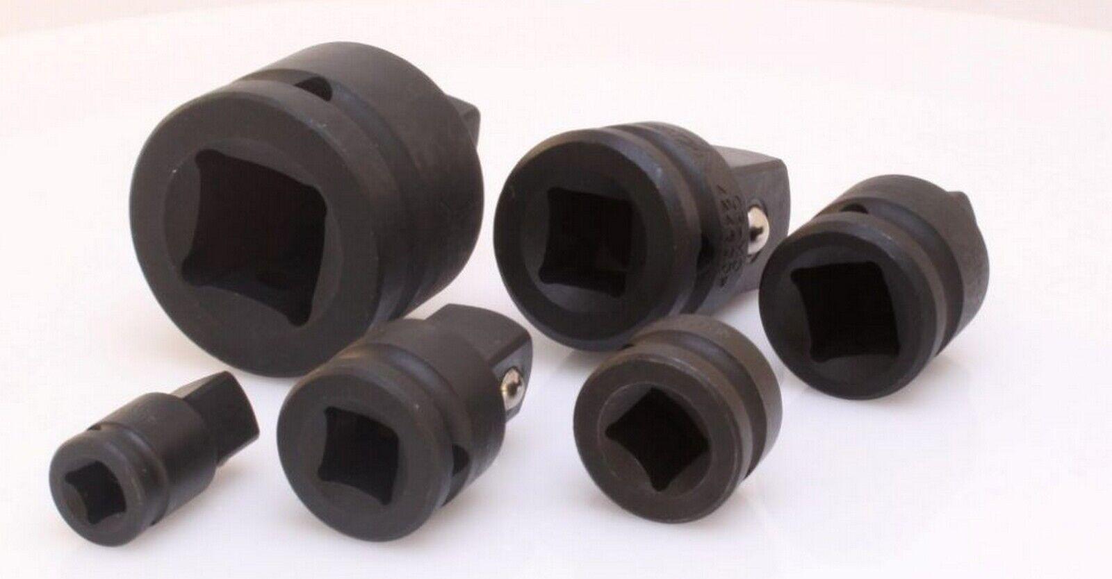 Asta  Adapter Satz 6-teilig Kraftadapter Schlagschrauber Crom-Molybdän Stahl