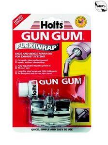 holts gun gum flexiwrap ends bends exhaust repair kit. Black Bedroom Furniture Sets. Home Design Ideas