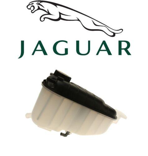 For Jaguar XK XKR XKR-S Coolant Expansion Tank w// Cap GENUINE C2P25607