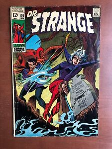 Doctor-Strange-176-1969-7-0-FN-Marble-Key-Issue-Silver-Age-Stan-Lee-Colan