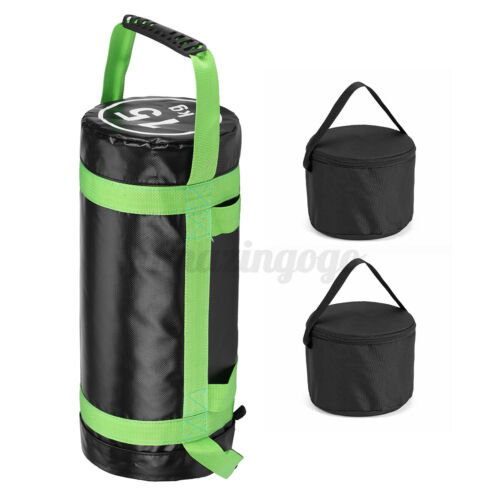 33//44//55lbs Weighted Training Bag Fitness Sandbag Gym Weight Lifting Workout US
