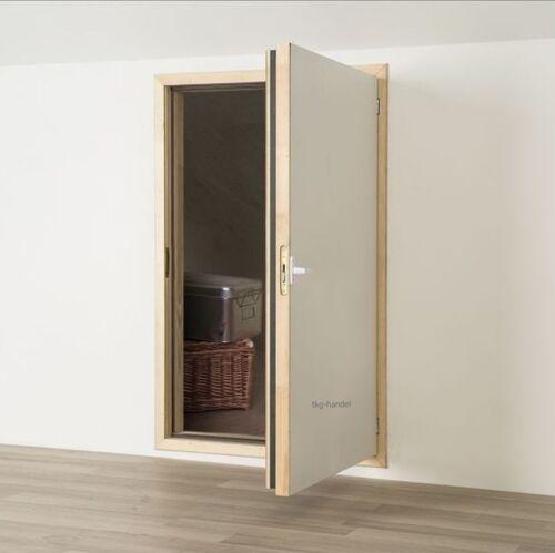 Kniestocktür 70 x 110 Drempeltür mit Wärmedämmung U=1,1 W//m²K Tür
