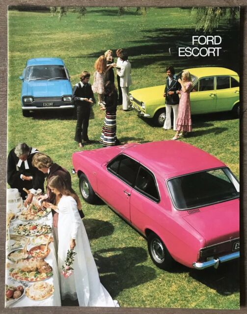 c1973 Ford Escort original Australian sales brochure
