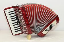 WELTMEISTER STELLA 48 BASS ACCORDION/SIM.WELTMEISTER CAPRICE/DHL WORLD WIDE SHIP