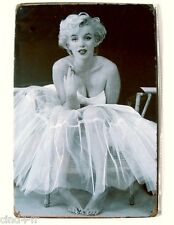 Pancarte affiche Retro vintage Marilyn Monroe wall decor metal poster,NEW / NEUF