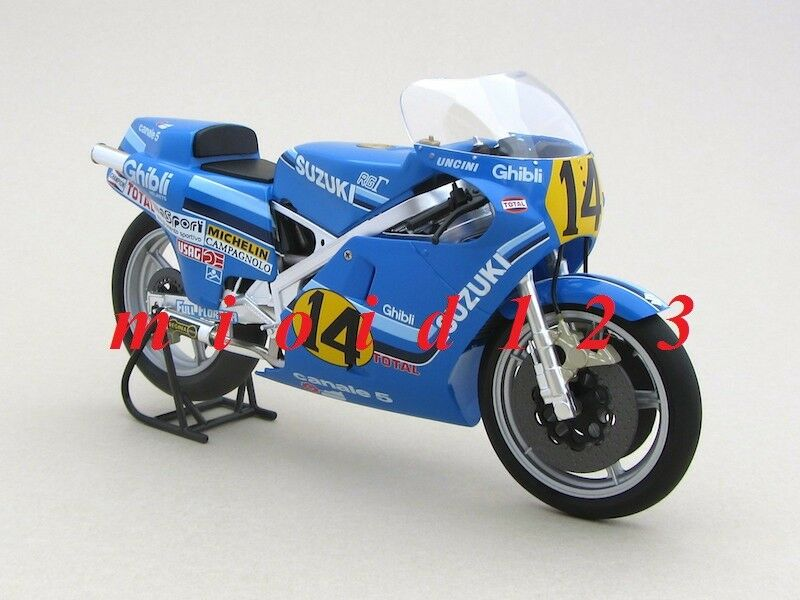 1 12 - SUZUKI RGB 500 - Franco UNCINI - World Champion 1982 - [ Altaya - IXO ]