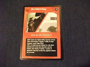 Star Wars CCG Reflections II Alter /& Collateral Damage
