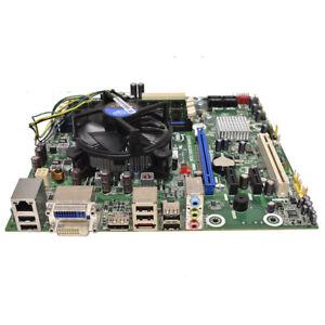 Intel PC Mainboard DQ57TM i5-660 CPU 3,33 Ghz 4 GB PC3 Heatsink Fan Kühler I/O