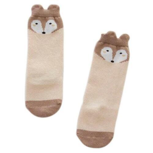 Baby Toddler Kids Socks Cute Cartoon Soft Leggings Warmer Knee Long High Socks