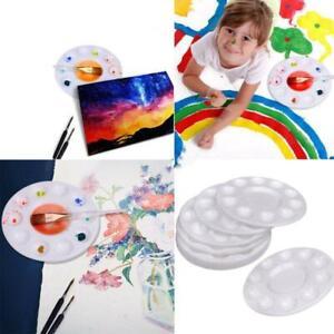 10-Wells-Art-Paint-Pallets-Plastic-Palette-Tray-Acrylic-Oil-Watercolor-Palette