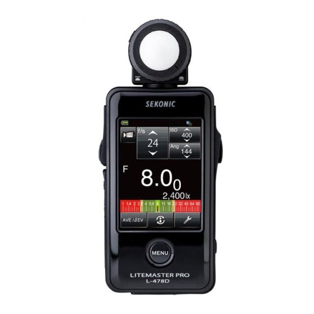 NEW SEKONIC L-478D LiteMaster Pro Light Meter L478D