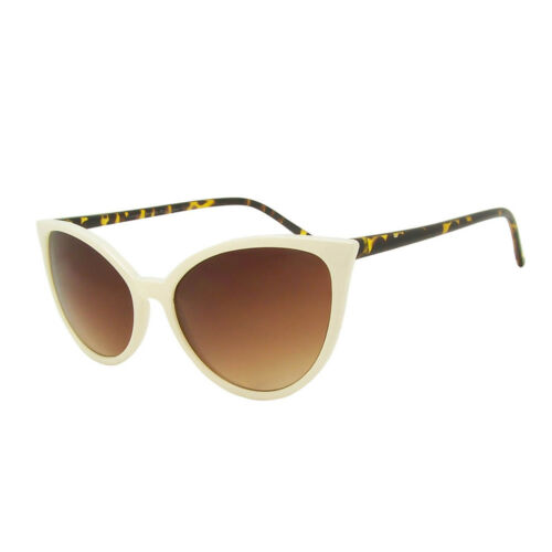 Ladies 1950/'s Oversized Pointy ROCKABILLY Cat Eye Sunglasses Diva Pinup