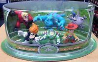Disney Heroes Pixar Figure Set - Sulley Woody Incredibles Toy Story Monsters Inc