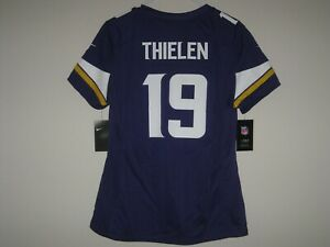 low priced 50644 b8a7e Details about NEW NIKE ADAM THIELEN MINNESOTA VIKINGS COLOR RUSH JERSEY  WOMENS LARGE L $100