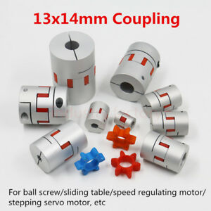 CNC-Jaw-Flexible-Shaft-Coupling-14mm-X-13mm-Coupler-D30L40-For-CNC-Stepper-Motor