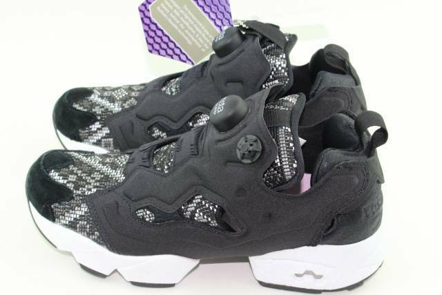 REEBOK INSTAPUMP FURY GT WOMAN WOMAN WOMAN SIZE 7.0 NEW BLACK WHITE RARE AUTHENTIC 3efa63