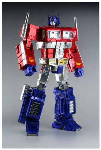 New MP10X Electroplated version Optimus Prime Transformers Action figure Toy ko