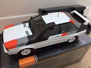 IXO 18CMC011 AUDI QUATTRO Group B model car Rally spec 1982 1:18th scale