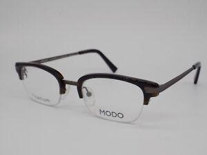 0dcc619b403 Grey   Dark Tortoise brown MODO Rx Horn Rim Eye Glasses Frames ...