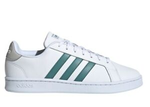 Men's Shoes adidas GRAND COURT FY8197 Sneakers Sports Gymnastics Leather White