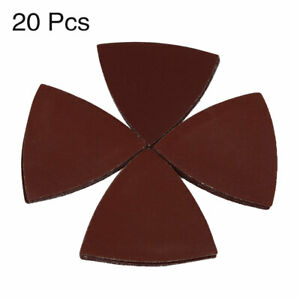 20-Pcs-3-Inch-Hook-and-Loop-Sanding-Discs-Triangle-Sandpaper-240-Grit