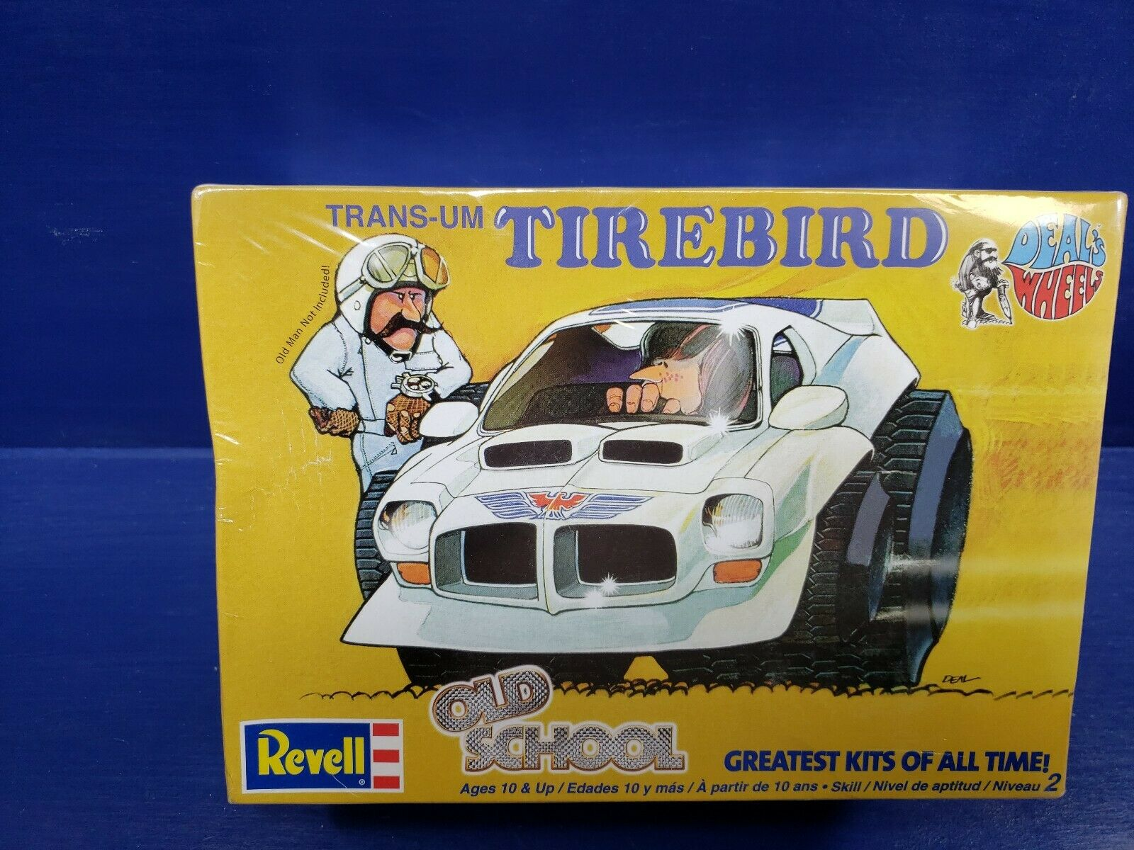 1 25 scale Trans-UM Tirebird Old School, Deal's Wheels, Revell Model Kit