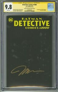 Detective-Comics-1000-BLACK-BLANK-SKETCH-COVER-CGC-SS-9-8-SIGNED-JIM-LEE