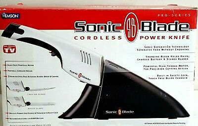 Emson Sonic Blade Pro Series Cordless Power Knife Electric