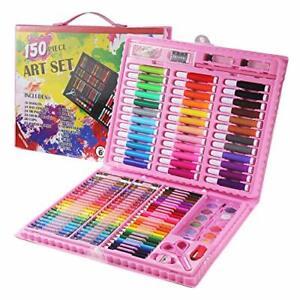 150 Deluxe Art créativité Set enfants KIDS Crayons Peinture Dessin Kit ensembles