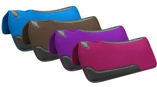 Showman Trail Barrel  Felt Horse  Saddle PAD Wear Leathers bluee Pink Purple Brown  selling well all over the world