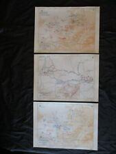 1861 SLAVE MAP GA Port Wentworth Powder Springs Red Bud Richmond Hill Rincon BIG