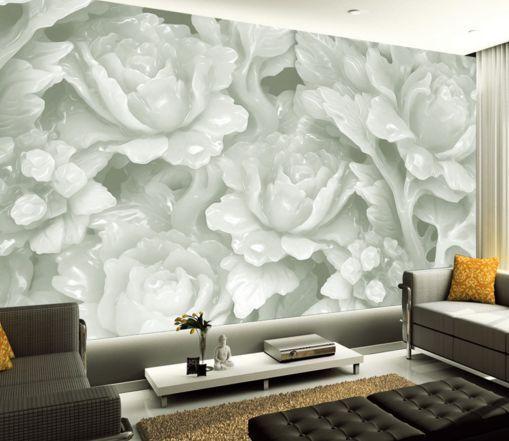 3D Jade Carving von Blaumen  Fototapeten Wandbild Fototapete BildTapete FamilieDE