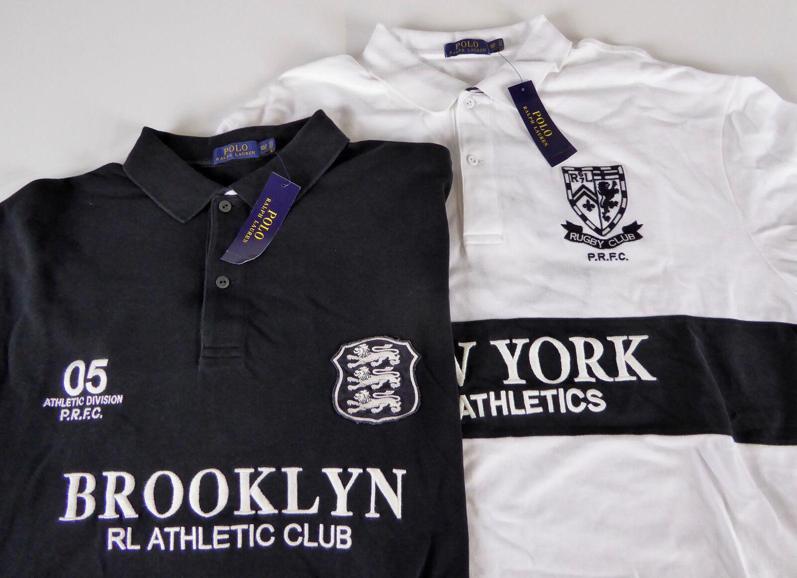 Polo Ralph Lauren SS Rugby Shirt  Brooklyn New York Athletic Div Club NWT