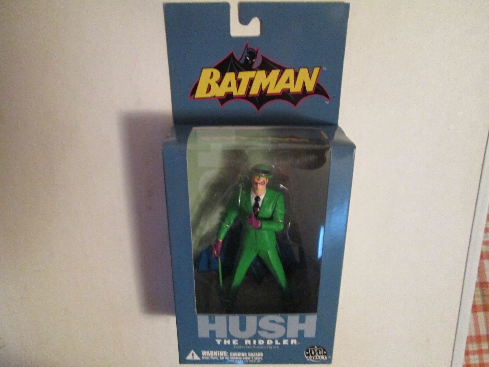 HUSH dc direct RIDDLER the dark knight returns batman kenner mattel miller