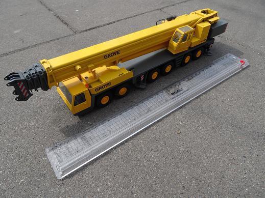 Conrad 209101 todo terreno intermedios 6300 escala 1 50 grúa móvil hidráulico