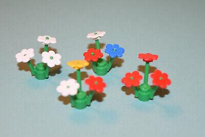 Lego Town City Flowers ~ 12 Stems /& 36 Flower Petals ~ Pick Your Color